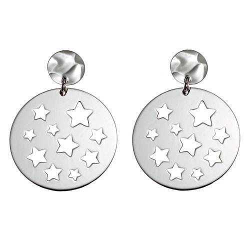 Orecchini con stelle traforate argento Facco Gioielli