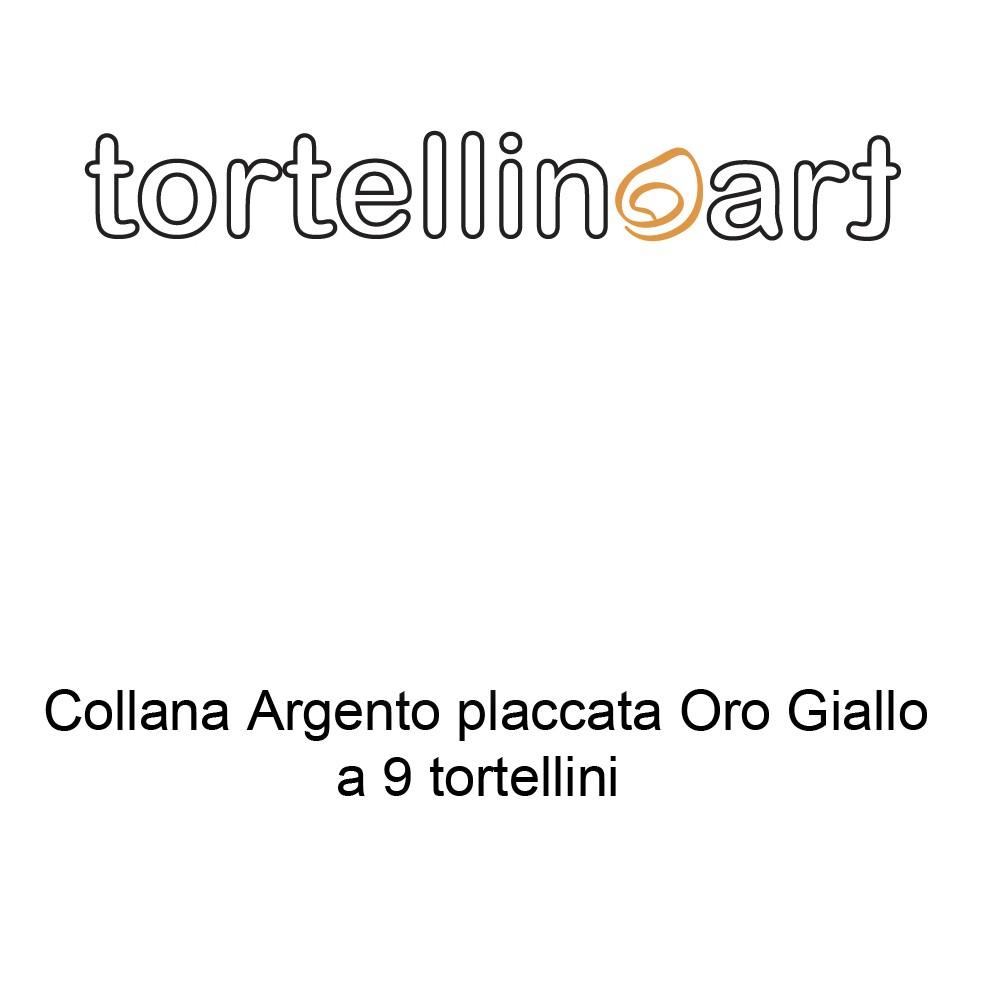 Tortellinoart Collana 9 Tortellini Argento